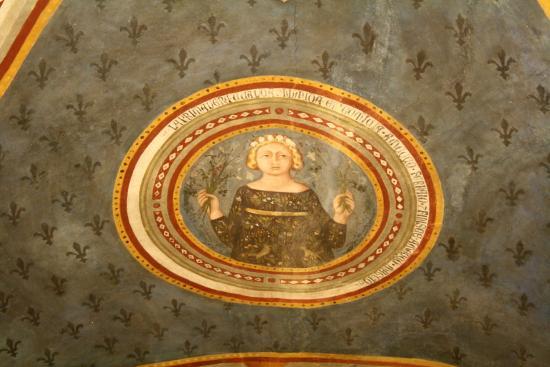 Asciano, Italy: Cristoforo di Bindoccio e Meo di Pero, Primavera, Sala delle Stagioni