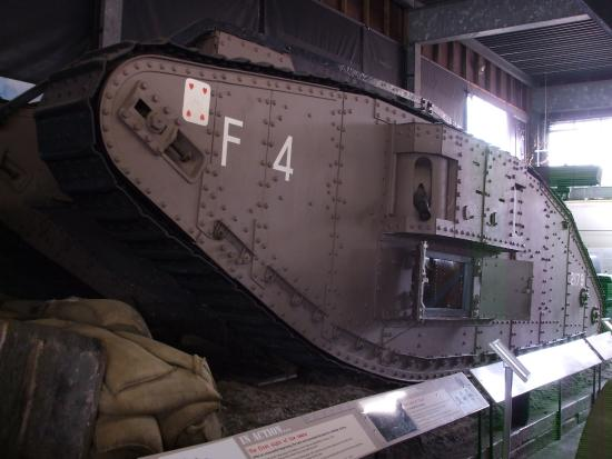 Museum of Lincolnshire Life, Lincoln - World War One Mark IV Tank