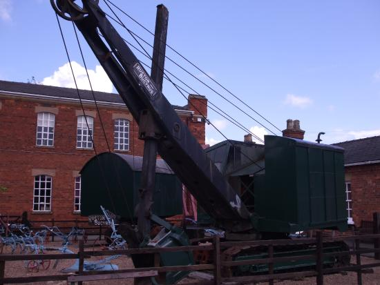 Museum of Lincolnshire Life, Lincoln - Excavator (c. 1937)