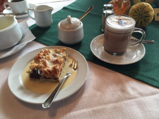 Zum Raben: Kaffeepause - es gibt auch heiße Schokolade :-)