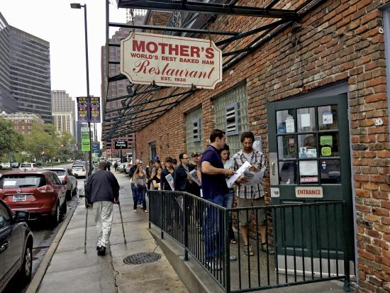 Mother's Restaurant - Poydras St, New Orleans, Louisiana - Rated based on 9, Reviews