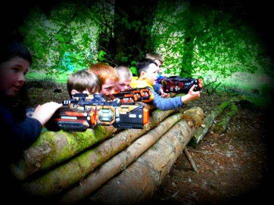 Muir of Ord, UK: Lasertag