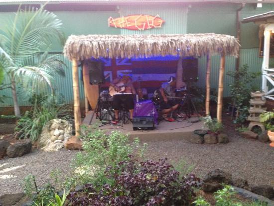 the garden island grille garden stage that had live music - The Garden Island