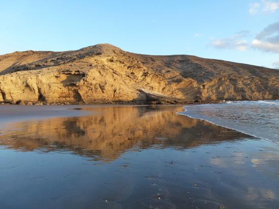 Villa Las Dunas: Пляж