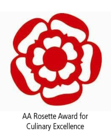 Ten Hill Place, BW Premier Collection: AA Rosette Award