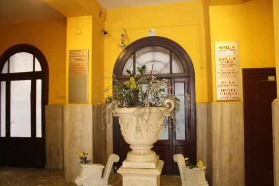 Capri: Вход в отель