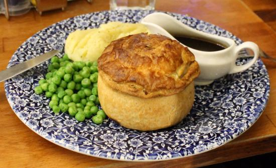 Sir Henry Segrave: Pie, peas, mashed potatoes, & gravy
