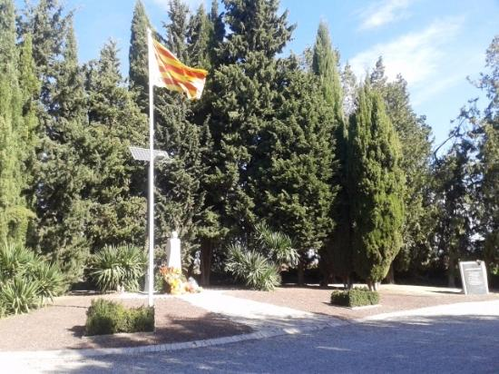 Monumento al President de la Generalitat Lluis Companys