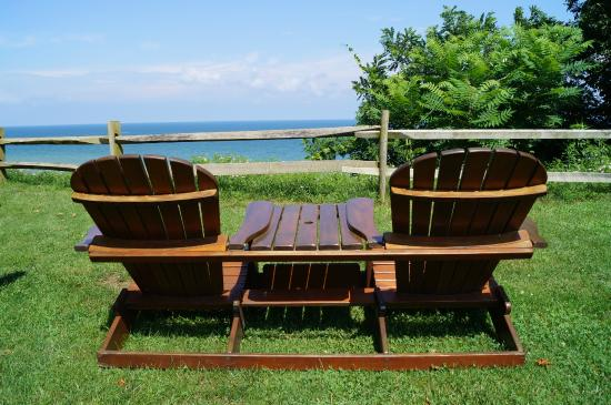 Lakeview on the Lake: Adirondack Chairs