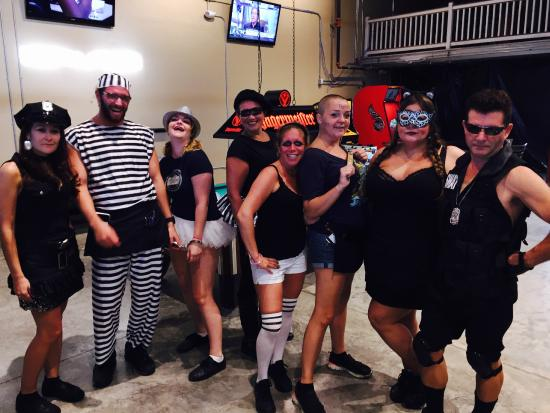 Key West At The Waterfront Brewery Amazing Staff In Costume For Week 2017