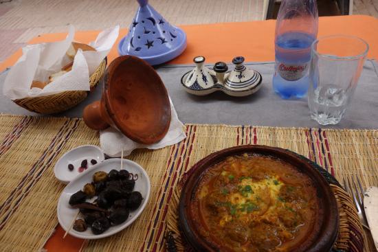 Restaurant La Tolerance : tajine