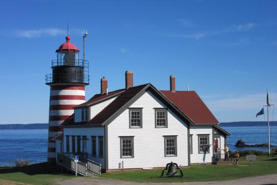 Machias, ME: West Quoddy Head lighthouse