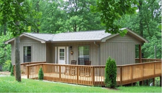 فونتانا فيليدج ريزورت: cabin with ramp