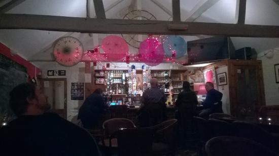Pewsey, UK: view of the bar