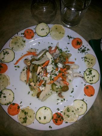 Vejano, Italië: insalata  di mare