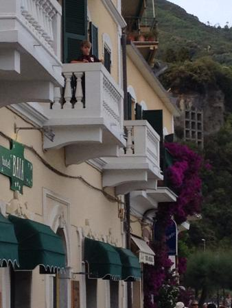 Hotel Baia : Balconies with great views