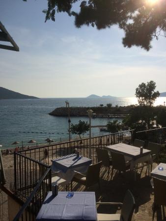 Korsan Fish Restaurant: Terrace View