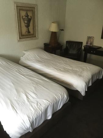 Hotel De Beurs: Twin beds