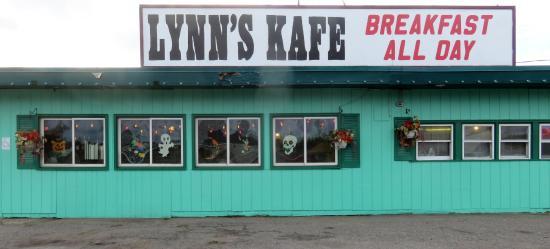 Gwinn, MI: Lynn's Kafe Breakfast All Day