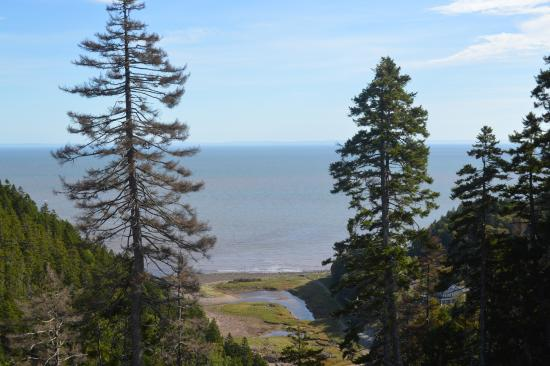 St. Martins, Canadá: View from Fundy Trail