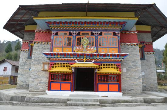 Mangan, India: Labrang Monastery, North Sikkim