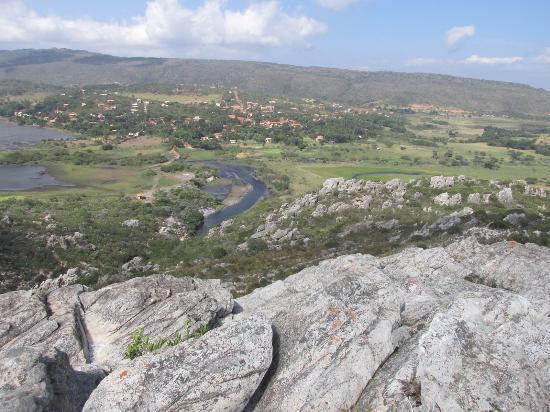 Santana do Riacho, MG: A vila fica lá em baixo!