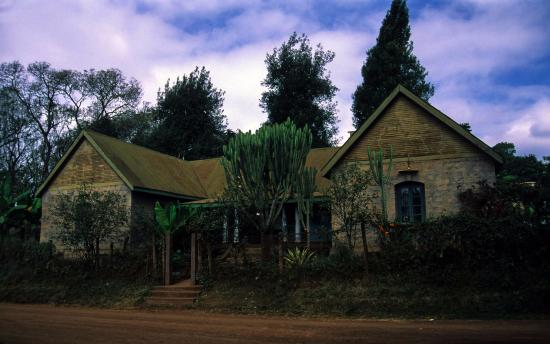 Meru Museum : The front side of the museum