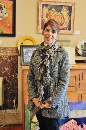 Whitehurst Bed & Breakfast: Now a proud artist with art hanging at Whitehurst!