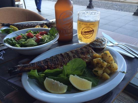 Mori Bistro: tasty fish plate