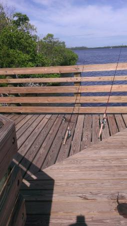 Hobe Sound, FL: fishing dock