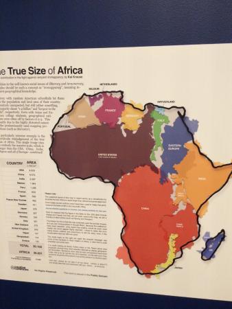 Mundaneum : hoeveel landen gaan er in het afrikaanse continent?