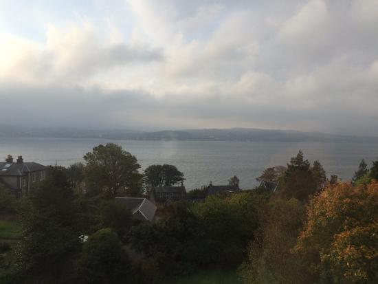 Kilcreggan, UK: The view from Room 7