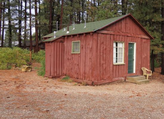 Джейкоб-Лейк, Аризона: Cabin Outside