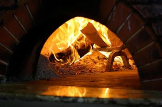 La Parolaccia Osteria Italiana: our wood burning oven