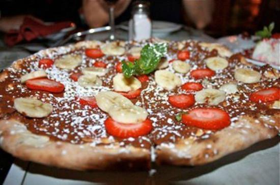 La Parolaccia Osteria Italiana: nutella pizza