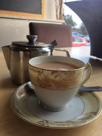 Cafe at Kilcreggan: What a lovely cup of tea!