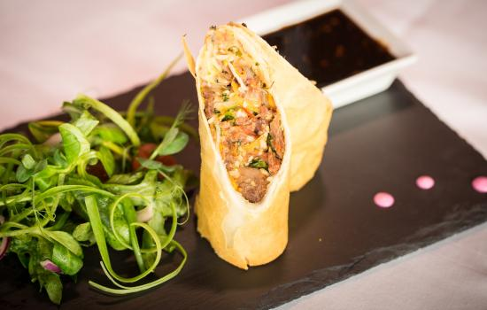 Waterfront House Restaurant: Duck Spring Roll