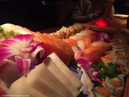 Naugatuck, Κονέκτικατ: sushi boat