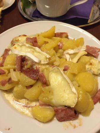 Hotel Prosper: Gratinované brambory