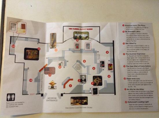 brochure picture of zippo case museum bradford tripadvisor. Black Bedroom Furniture Sets. Home Design Ideas