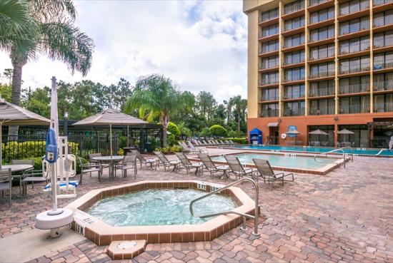 Holiday Inn Orlando SW - Celebration Area: Hot Tub