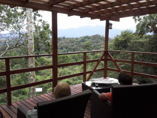 Cosanga, Equador: View from main building