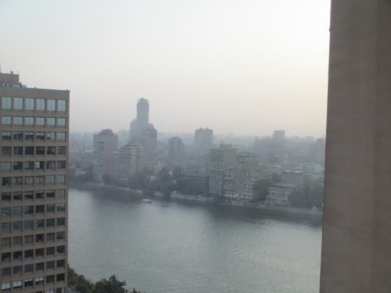 Sheraton Cairo Hotel & Casino: View from room 2