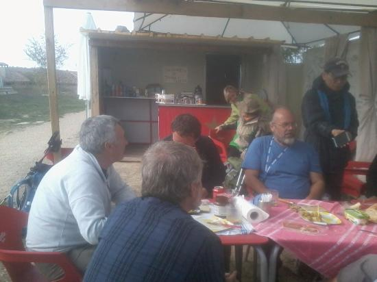 Bargota, Espanha: reponiendo fuerzas