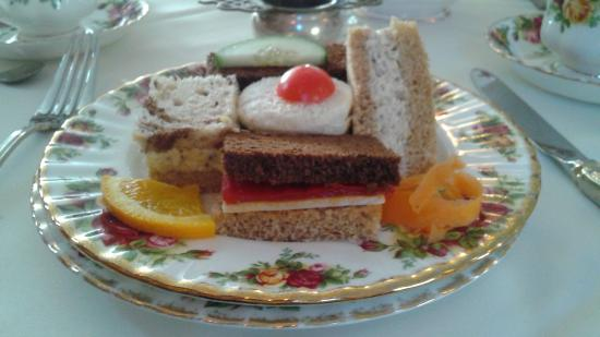 The Cosy Cupboard Tea Room: tea sandwiches