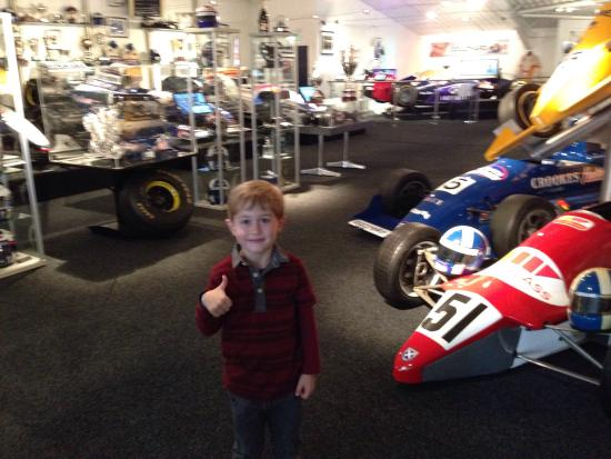 David Coultard Museum: Visited the museum with my 5yr old son. He loved it. Fantastic exhibits/memorabilia including go