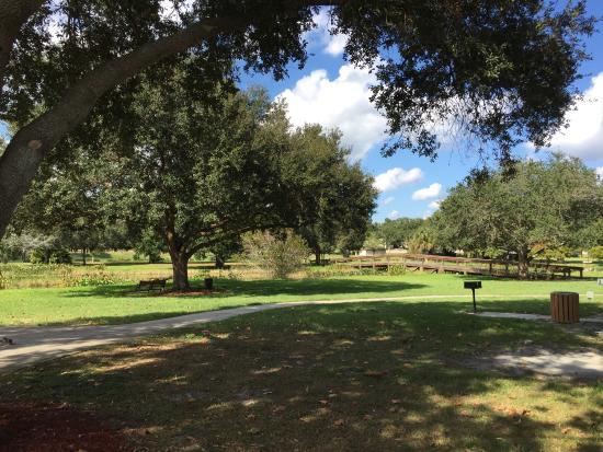 Peaceful nature park. Nice walking path.