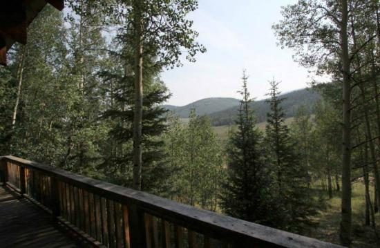 Oleo Ranch : View from The Aspens cabin