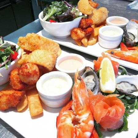 Shipwright's Arms Hotel: Seafood Selection