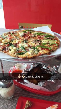 Capricciosas Pizza Gourmet